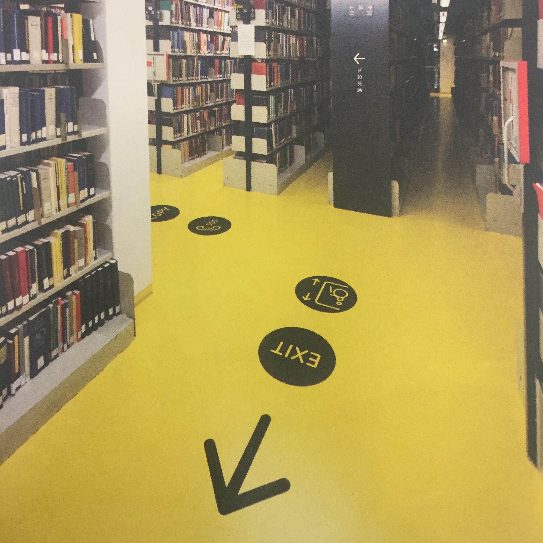 Floorprint - Adesivo da pavimento